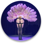 Effeuillage by Ophélie - Cours et stage d'effeuillage burlesque à Lyon, Valence, Grenoble et la Région Rhône-Alpes. Coaching en féminité. Enterrement de vie de jeune fille. Effeuillage Burlesque, Exotic, Chair Dance et danse rétro pin Up et Spectacle Cabaret Burlesque avec Ophélie Carré d'Ass et la FéminiTease Burlesque Cie.